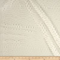 Designer Interlocking Circle Lace Off White