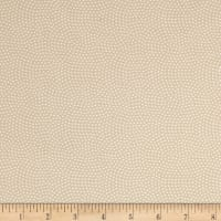 Timeless Treasures Spin Dot Beige