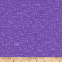 Timeless Treasures Spin Dot Purple