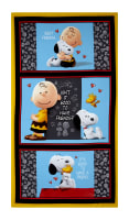 "QT Fabrics Peanuts Good Friends 23.5"" Panel Multi"