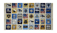"QT Fabrics Protect & Serve Patches 24"" Panel Natural"