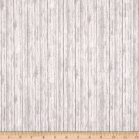 QT Fabrics In The Woods Woodgrain Texture Gray