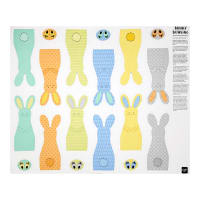 "Sew & Go II Bunny Bowling Craft 35"" Panel"