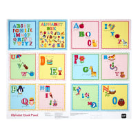 "Sew & Go II Alphabet Book 35"" Panel Multi"