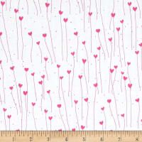 Santoro Gift Of Friendship Hearts White/Pink