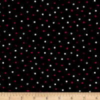 QT Fabrics En Vogue Dots Black