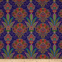 Imperial Paisley Set Paisley Navy