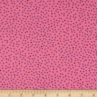 Imperial Paisley Dots Pink