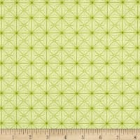 Sophia Diamond Geo Patch Light Green