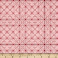 QT Fabrics Sophia Diamond Geo Patch Pink