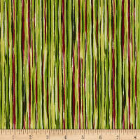 Sophia Watercolor Stripe Green