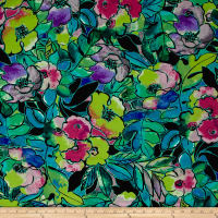 Ink & Arrow Toucan Do It! Tropical Floral Green