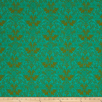 Ink & Arrow Paloma Damask Jade/Olive