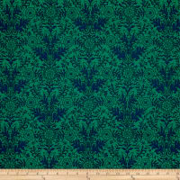Ink & Arrow Zola Damask Green/Navy