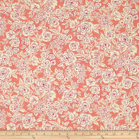 Ink & Arrow Zola Etched Floral Coral