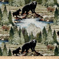 Regal Bradley Bear Jacquard Multi