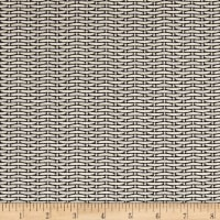 Magnolia Home Fashions Basket Weave Black