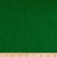 Timeless Treasures Flannel Spin Dot Green