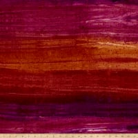 Benartex Bali Batiks Sunset Valley Raspberry Cocoa