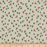 Under The Christmas Tree Reindeer Toss Cream