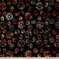 Timeless Treasures Tonga Batik Cactus Snowflake Mix Sundance