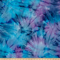 Timeless Treasures Tonga Batik Sunburst Tie-Dye Mystic