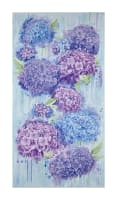 "Timeless Treasures Harmony 23.5"" Hydrangea Panel Sky"