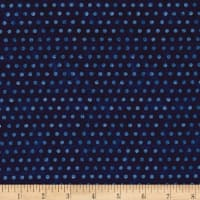 Timeless Treasures American Pride Dot Navy