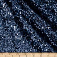 Taffeta Sequins Navy Blue