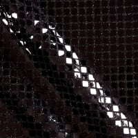 Quad Sequin Black