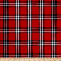 Large Plaid Red/Navy
