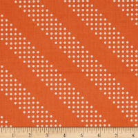 Cotton + Steel Dottie Tangerine