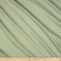 Cotton + Steel Rifle Paper Co. Menagerie Champagne Metallic Mint