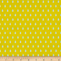 Cotton + Steel Beauty Shop Drops Yellow