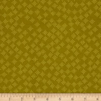 Cotton + Steel Lagoon Speckles Mustard