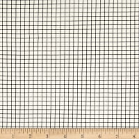 Cotton + Steel Snap To Grid Snap To Grid Black/Ivory