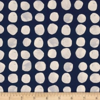 Cotton + Steel Sienna Pebbles Indigo