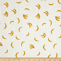 Cotton + Steel Lagoon Lawn Nanners Yellow