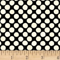 Lori's Art Garden Garden Dots Cream/Black