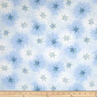 Newport Place Ambroise Floral Lace Blue Sky