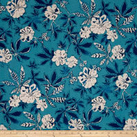 Kaufman Shimmer Pearl Metallic Collage Ocean