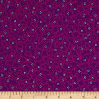 Kaufman Panache Scribble Berry