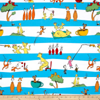 Dr Seuss Hop On Pop Stripe Bright