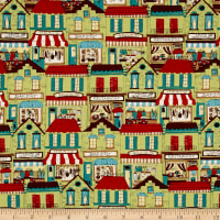 Quilt Gate Joyful Kitchen Shops Green