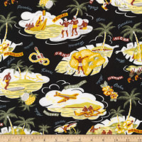 Kaufman Sevenberry Island Paradise Islands Black