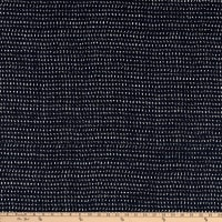 Kaufman Sevenberry Nara Homespun Dashes Indigo