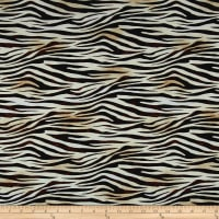 Kaufman Picture This Digital Print Zebra Skin Wild