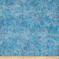 Kaufman Batiks Wavelengths Scatter Cornflower