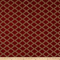 Diamond Chenille Jacquard Ruby