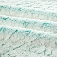 Shannon Minky Luxe Cuddle Frost Breeze/White